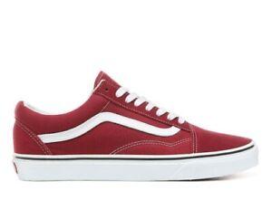 Vans-Old-Skool-Classic-Skate-Shoes-Rumba-Red