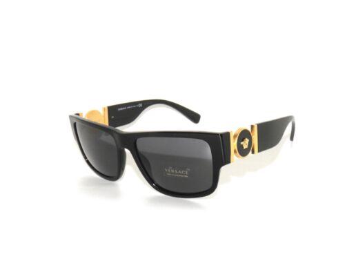 Versace 4369 GB1//87 Black Gray  Sunglasses