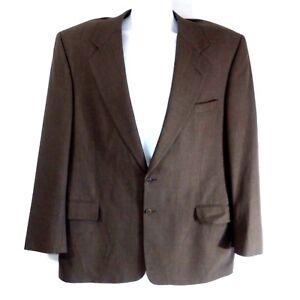 Nick-Hilton-collection-italy-2-button-blazer-gray-sport-coat-mens-size-42-R-36-W