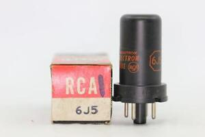 6J5-TUBE-RCA-BRAND-TUBE-NOS-NIB-CRYOTREATED-CH3V10F161014