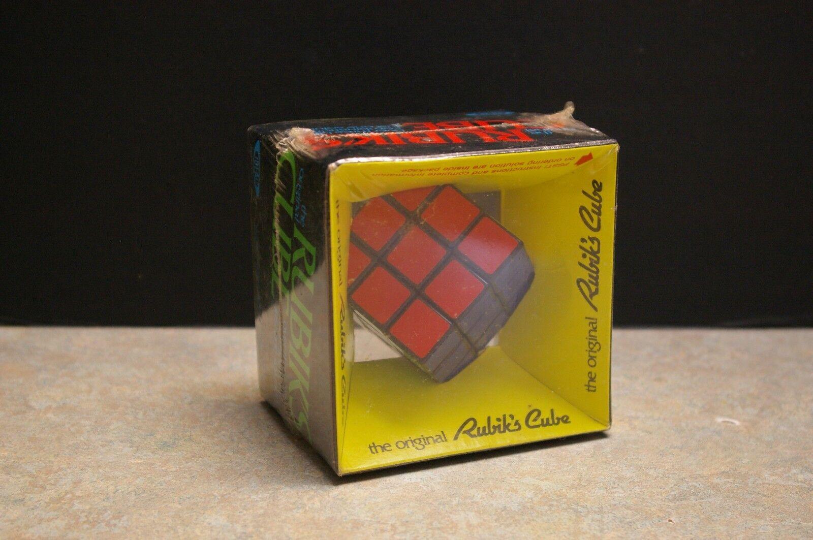 NEW ORIGINAL 1980'S 'IDEAL' 'RUBIK'S CUBE' FACTORY SEALED NO. 2164-2