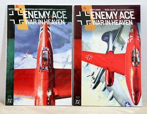 DC-Comics-TPB-Graphic-Novel-Enemy-Ace-War-In-Heaven-Issues-1-amp-2-NM-Near-Mint
