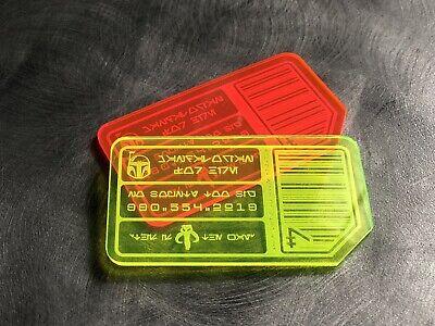 Star Wars Custom ID Card Galaxy/'s Edge Cosplay Prop