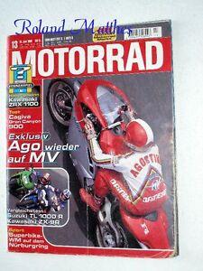 MOTORRAD-13-98-MV-AGUSTA-DUCATI-916-SUZUKI-TL-BURGMAN-YAMAHA-XJR-KAWASAKI-ZX-9