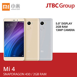 New 5 Inch Xiaomi Redmi 4 LTE 4G 32GB/64GB Factory Unlocked Android Smart Phone