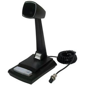 new astatic ast 878dm desk microphone cb ham radio base. Black Bedroom Furniture Sets. Home Design Ideas