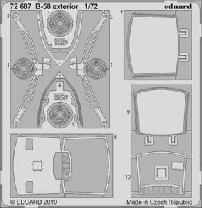 Eduard-PE-72687-1-72-Convair-B-58-Hustler-exterior-details-Italeri