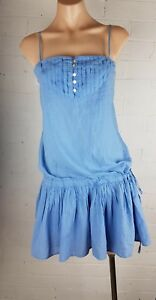 Witchery-Sz-M-Cotton-Sun-Dress-Mini-Beach-Summer-Womens-Sleeveless-12
