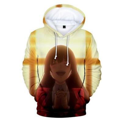 Kakegurui Hoodie Kid Adult 3D Printed Meari Sweater Jabami Yumeko Shirt Anime