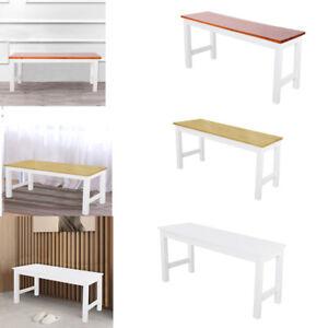 Details zu Lange Bank Sitzbänke Kiefernholz Sitz Holz Hocker Schemel Stuhl  Küche Esszimmer