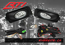 04-05 Acura TSX JDM Clear Fog Light Kit + Harness + on/off Switch + Covers
