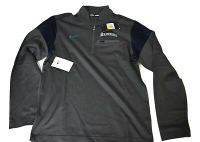 Nike Bsbl Mlb Herren Seattle Seeleute Baseball-jacke Nwt-s BerüHmt FüR AusgewäHlte Materialien Herrliche Farben Und Exquisite Verarbeitung Neuartige Designs