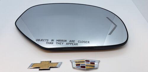 NEW OEM GM RH EXTERIOR SIDE VIEW MIRROR GLASS 2009-14 AVALANCHE ESCALADE SIERRA