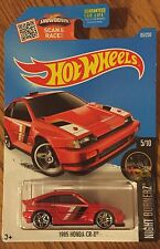 Hot Wheels 2016 Night Burnerz 1985 Honda CR-X JDM Super Fast Shipping