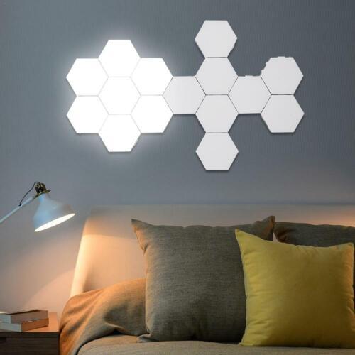 DIY Quantum Lampe berührungsempfindliche Beleuchtung sechseckige LEDWandleuchten