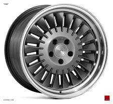 "18"" ISPIRI CSR1D Directional Wheels - Carbon Graphite - VW Audi Mercedes 5x112"