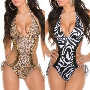 553af4aedb Image is loading Sexy-Womens-Monokini-Bikini-Swimming-Costume-Swimsuit- Swimwear-