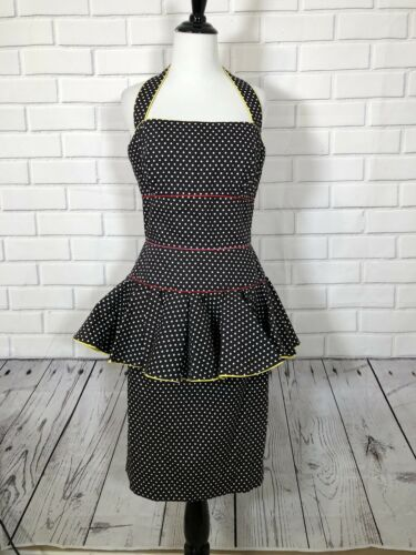 Vintage Barboglio Cristina Jan Black Polka For Pep