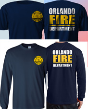 CUSTOM T-SHIRT CITY OF MIAMI FIRE RESCUE FIRE DEPARTMENT FIREFIGHTER