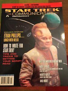 Star Trek Communicator Magazine Back Issue March/ April 1996 Vintage