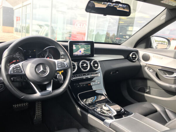 Mercedes C250 2,0 AMG Line stc. aut. billede 12