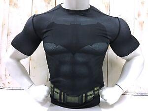 0e62283f4ec32 Batman Under Armour Alter Ego T-Shirt Men's Compression Dark Knight ...