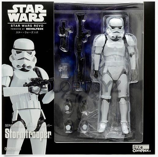 Revoltech 002  STAR WARS Stormtrooper Storm Trooper Action figure Kaiyodo en promotion  vente discount