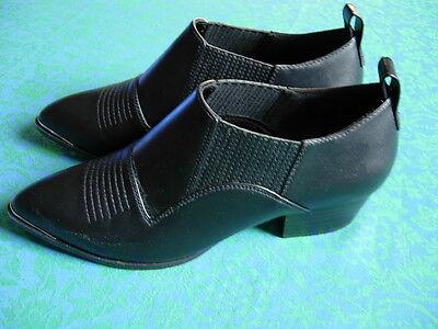 H&M Niedrige Stiefelette Schuhe Gr. 39 schwarz NEU elegant zeitlos