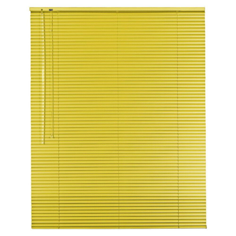 Aluminium Jalousie Alu Jalousette Jalusie Fenster Tür Rollo - Höhe Höhe Höhe 250 cm gelb   Exzellente Verarbeitung  faa68a