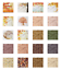 thumbnail 1 - Ambesonne Autumn Fall Decorative Satin Napkins Set of 4 Party Dinner Fabric