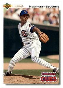 Details About 1992 Upper Deck Gold Hologram Baseball Card Pick 569 800