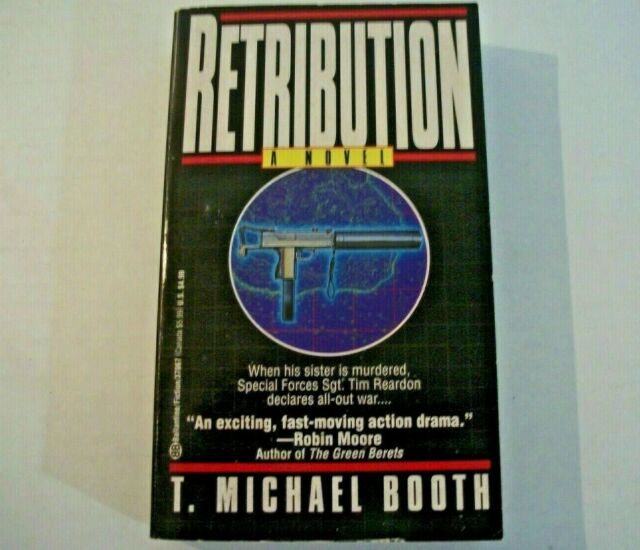 Retribution by T. Michael Booth (1994, Paperback)