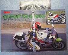 MOTOSPRINT989-PROVA / TEST-1989- APRILIA 125 SPORT - 3 fogli