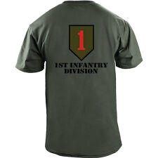 0da54ce8ff2 item 7 US Army 1st Infantry Division Big Red One Veteran Full Color T-Shirt  -US Army 1st Infantry Division Big Red One Veteran Full Color T-Shirt