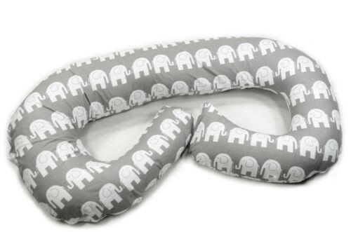 Stillkissen 260cm Lagerungskissen Schwangerschaftskissen 100/% Baumwolle ekmTRADE
