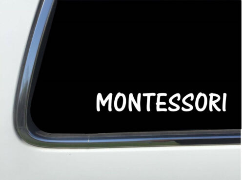 "ThatLilCabin MONTESSORI AS455 6/"" homeschool decal"