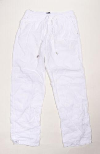 Vilebrequin Mens Linen Pants White Size  Large