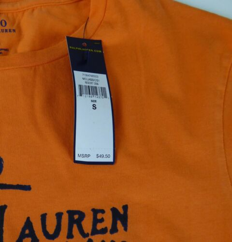 Polo Ralph Lauren 100/% Cotton T-shirt $49 Anchor Marine Whale Graphics NWT Shirt