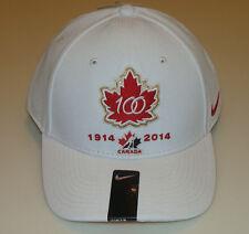 Canada 2015 World Juniors Hockey 100th Anniversary DF Wool Classic White Hat Cap