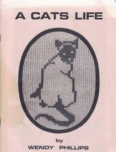 A-Cats-Life-by-Wendy-Phillips-for-Machine-Knitters-30-Cat-Patterns-1985-Vintage