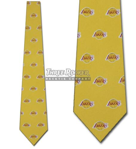 Lakers Tie Mens Officially Licensed Neck Ties Los Angeles Lakers Neckties NWT