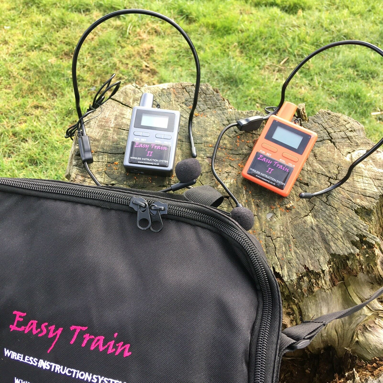 Easy Train Two Way Wireless Communication System Horse Instruction System.