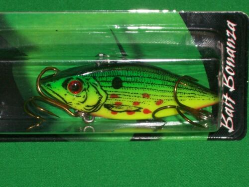 """Rattle Spot Rattle Trap Wounded Tiger Shad 2.5/"""" Cordell"""