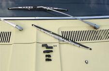 Fiat 128 130 132 X 1/9 X1/9 Scheibenwischer silber NEU !!!
