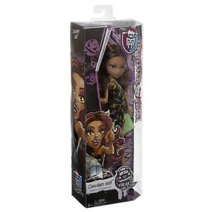 MONSTER-HIGH-FREAKY-FIELD-TRIP-CLAWDEEN-WOLF-DOLL-BRAND-NEW-CFC76