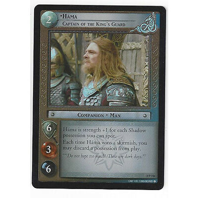 CCG 8 Lord of the Rings/Hobbit Promo Hama Captain of the King's Guard Foil 0P106