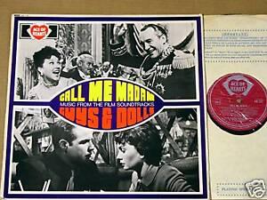 Call-Me-Madam-Guys-amp-Dolls-RARE-U-K-Soundtrack-LP