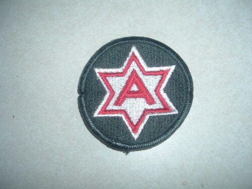 MILITARY PATCH 6TH ARMY COLORED
