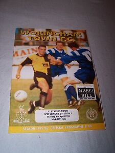 Wokingham-Town-v-Staines-Town-1995-1996