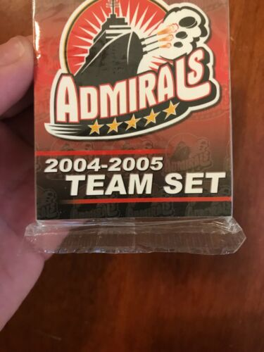AHL Norfolk Admirals 2004-2005 NIP Hockey Card Team Set